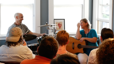 Alicia & Fugan at Cape Cod CD Release June 13, 2015