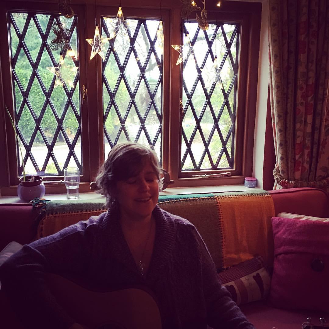 Alicia in heart room 2015
